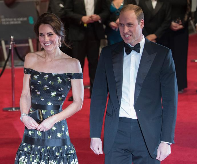 It's a royal date night for The Cambridges.
