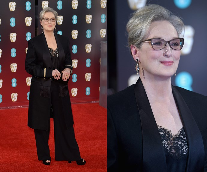 Hollywood hero and all round goddess, Meryl Streep, is in the house.