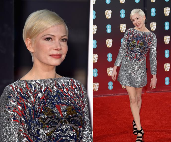 Part human, part pixie - Michelle Williams takes elfin beauty to the next level.