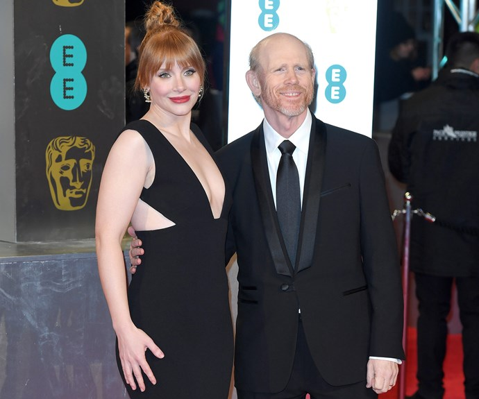Bryce Dallas Howard with her superstar dad Ron Howard.