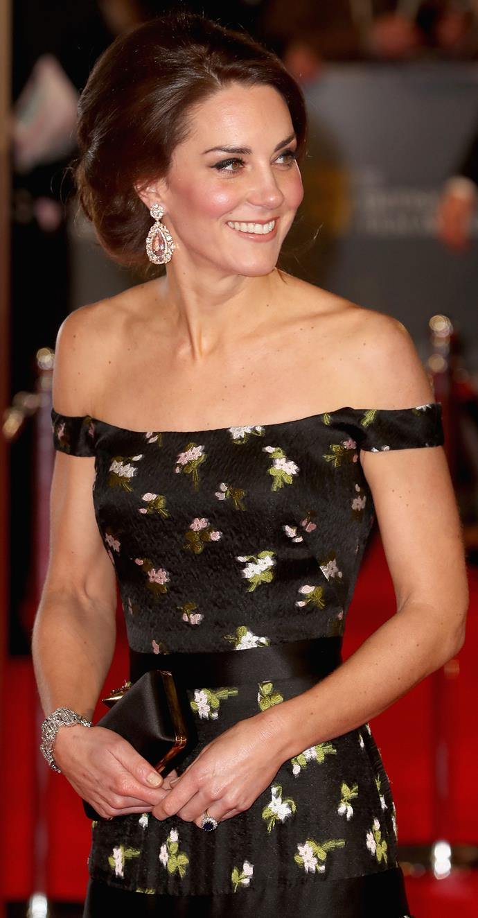 The Duchess prefers doing her own her makeup for events... and may we say she did a fantastic job!