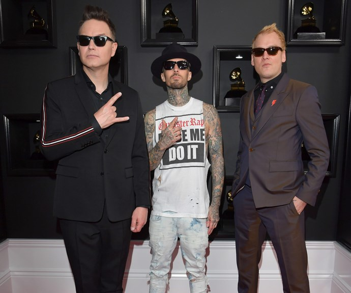Blink 182 are up for the best Rock Album award for their offering *California*.