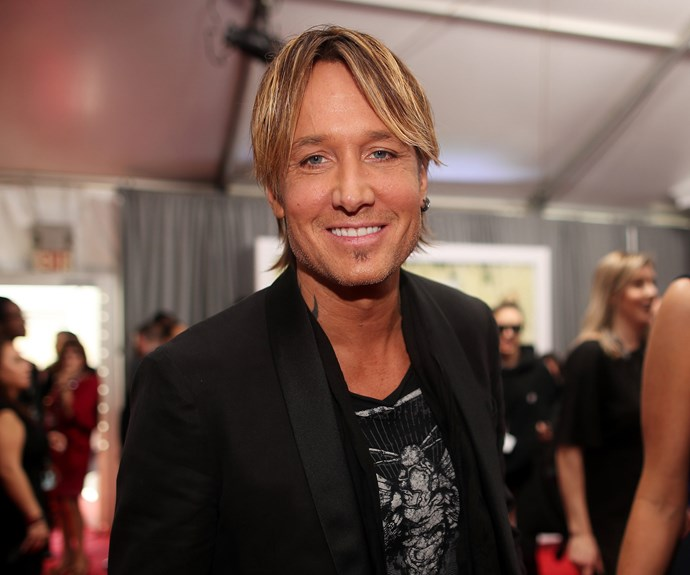 """Making it work! As Nicole wraps up at The BAFTA Awards, Keith Urban revealed she's jumping on a plane to meet him after The Grammys - so romantic. """"She's at the BAFTAs, on the exact same night as the Grammys. She literally jumped on a plane right before I got here,"""" he told *E!*."""