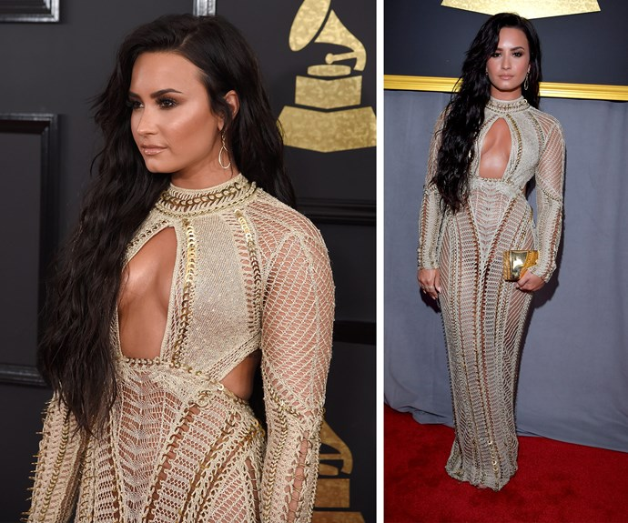 Demi Lovato is up for her first Grammy.