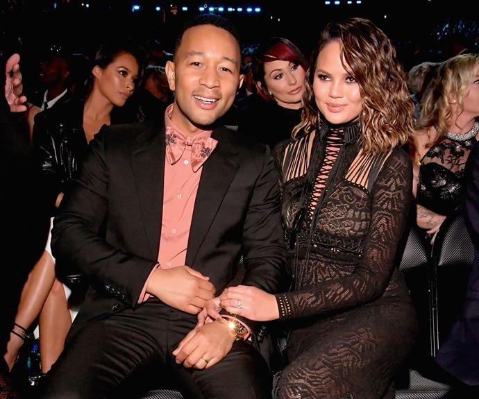 But we think John Legend has scored the best seat in the house.