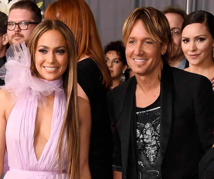 Keith Urban reunites with his American Idol bestie JLo.