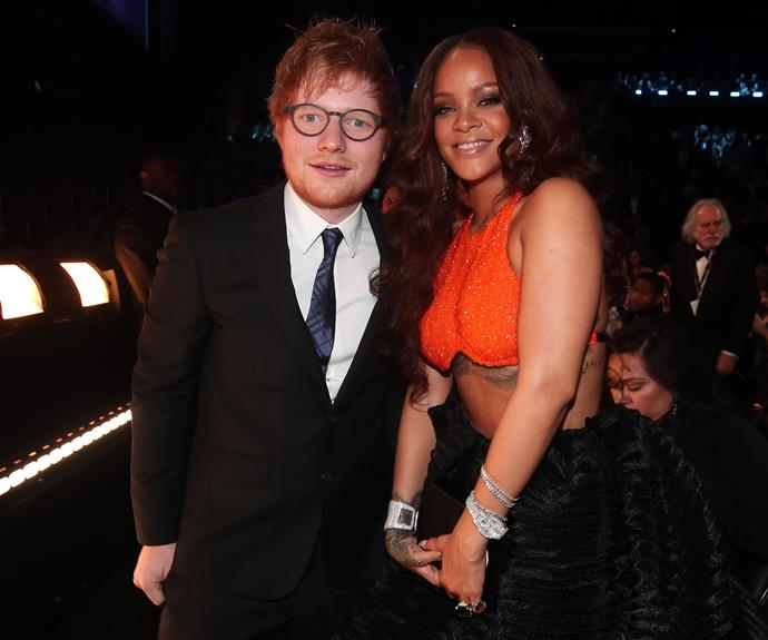 We are praying for a RiRi and Ed Sheeran collab ASAP.