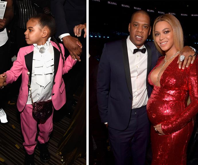 Meanwhile, everyone wanted to be Blue Ivy's BFF.