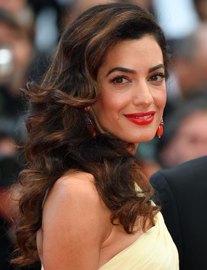 "**CLASSY PERFUME:** No overpowering smells, Amal is said to be a fan of [Something Blue by Oscar de la Renta](https://au.strawberrynet.com/perfume/oscar-de-la-renta/something-blue-eau-de-parfum-spray/157295/|target=""_blank""
