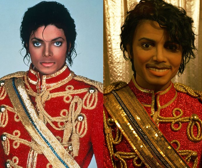 The King of Pop has had a severe injustice done to him. Thank goodness they got the costume *mostly* right.