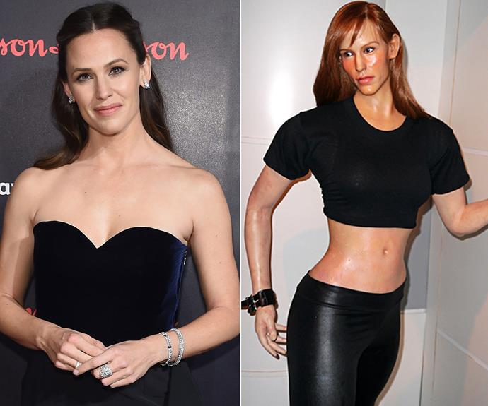 "Jennifer Garner's head looks as though it has been accidentally attached to a bodybuilder figure at this [museum](https://www.vice.com/en_ca/article/an-open-letter-to-the-worst-waxwork-museum-in-america|target=""_blank""