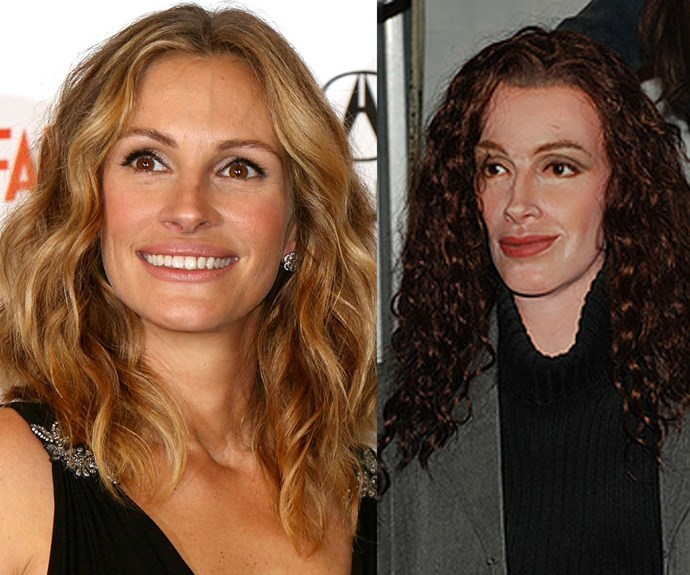 Julia Roberts looking like a not-so pretty woman now.