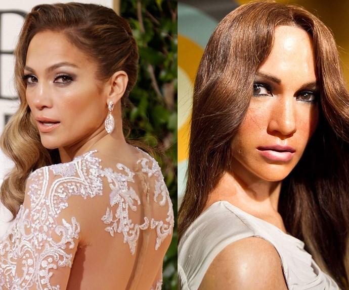 Help! Jennifer Lopez's head has been deflated.