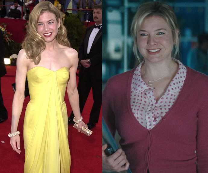 Renée Zellweger gained 14 kilograms to play the lead role in *Bridget Jones's Diary* and, after losing it, had to regain it all for the sequel.