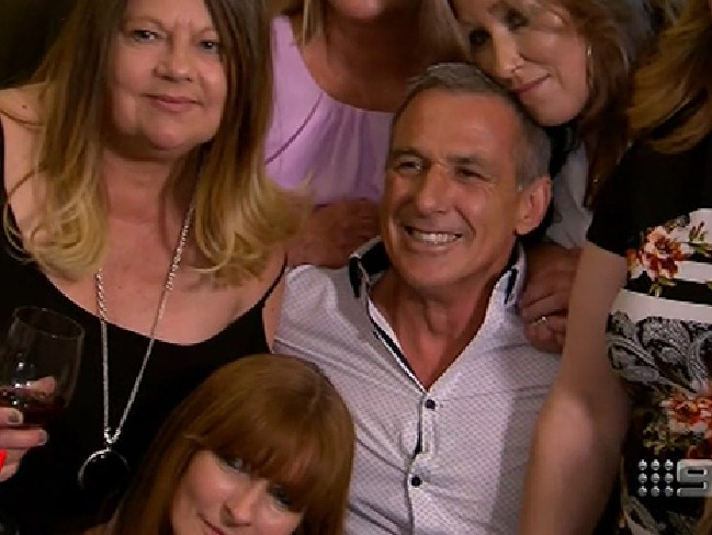 John was being swamped by women wanting to date him!
