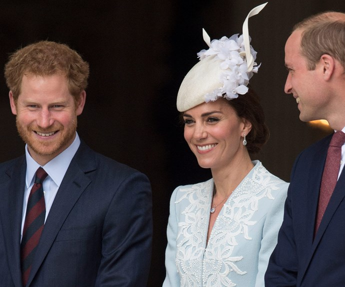 Harry, Kate and Wills work fabulously together.