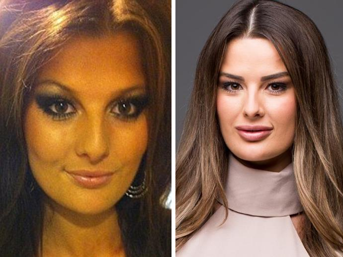 Cheryl Maitland from *Married at First Sight* appears to have [tweaked her look in the last few years](http://www.nowtolove.com.au/celebrity/tv/mafs-star-cheryl-maitland-scandal-35184), if her explosive Instagram is anything to go by. Aside from toning down her makeup and lightening her hair colour, there appear to have been a few other subtle adjustments made.
