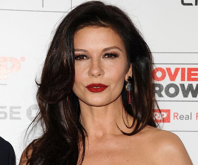 "Catherine Zeta-Jones ""I brush my teeth with strawberries because I was told they're a natural teeth whitener — and it really works. They taste better than most toothpastes, too."""