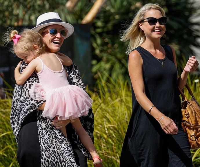 Mum Fifi, 39, and Jami Lee, 23, who's a nanny, recently stepped out with Trixie Belle Box.