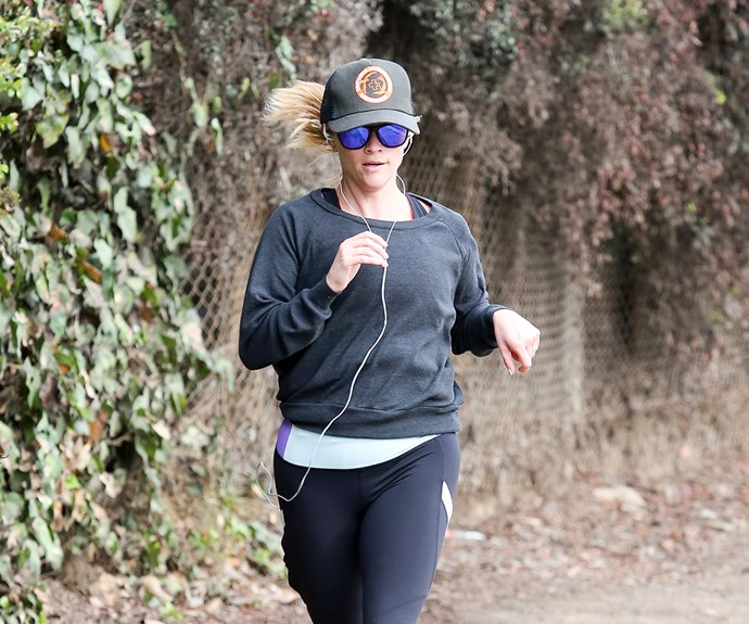 Reese Witherspoon is a long-time runner, and is often seen chatting, ahem, running alongside her friends.