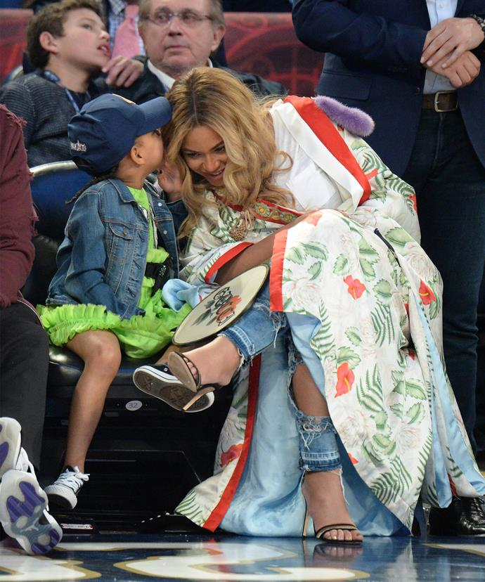 Quite possibly the cutest mother-daughter moment we've ever seen.