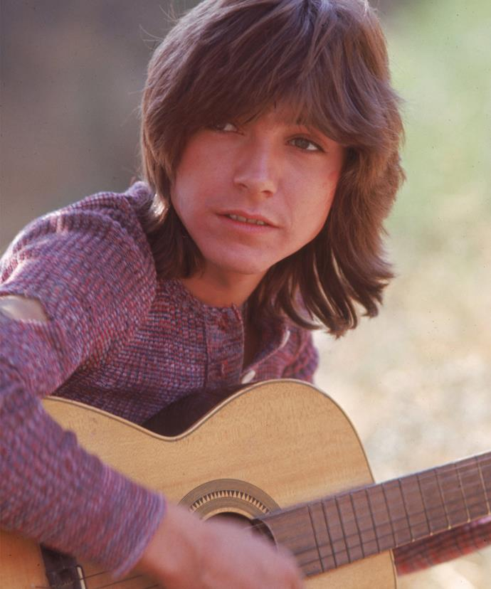 David was a teen heartthrob in the '70s.