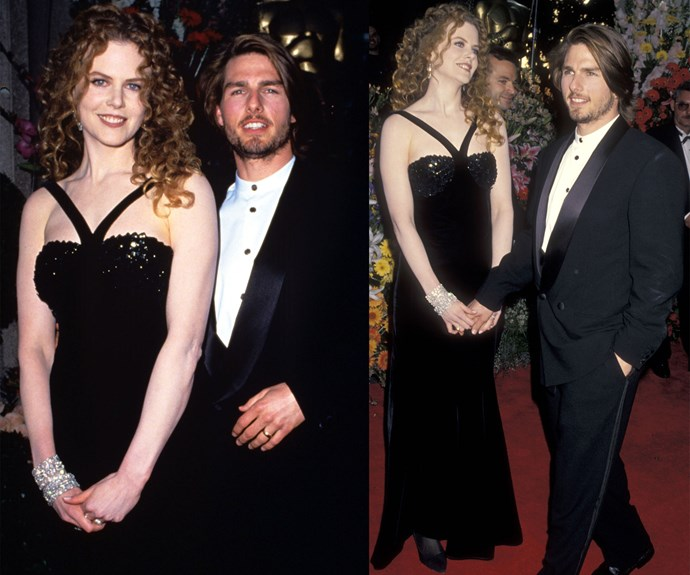 In 1994, Nicole and Tom attended the event to support his film, *Interview with the Vampire*. Nicole wore Valentino once again.
