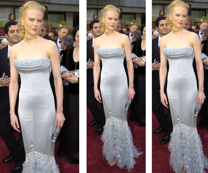 In 2004, Nicole opted for a Chanel Haute Couture gown that really showed off her enviable body.