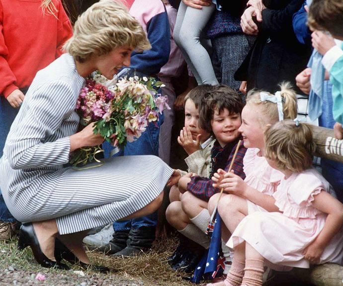 Diana was celebrated for her kindness and compassion.