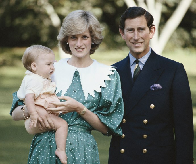 Diana and Prince Charles broke protocol when they took a baby Prince William on their royal tour of Australia and New Zealand back in 1983.
