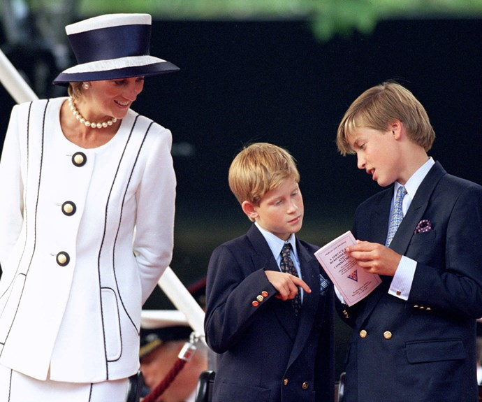It was paramount for the royal that her sons shared her compassion for others.