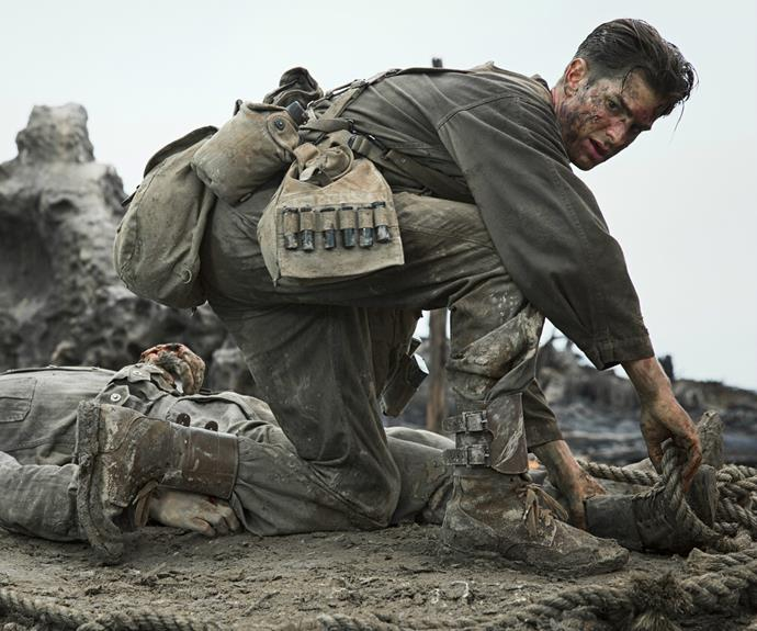 Hacksaw Ridge sees the film's lead, Andrew Garfield, nominated for his very first Oscar.