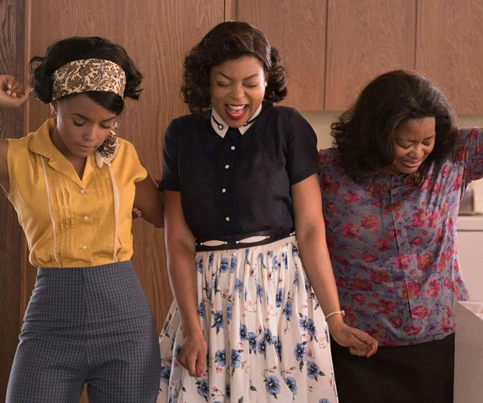 Someone play some Marvin Gaye because we heard on the grapevine that Hidden Figures is an absolute delight... AND a contender for this year's best film.