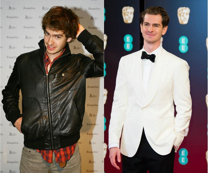 Back in 2008, Andrew Garfield was the ultimate shy guy. Fast-forward eight years and he's now as polished as an Oscar.