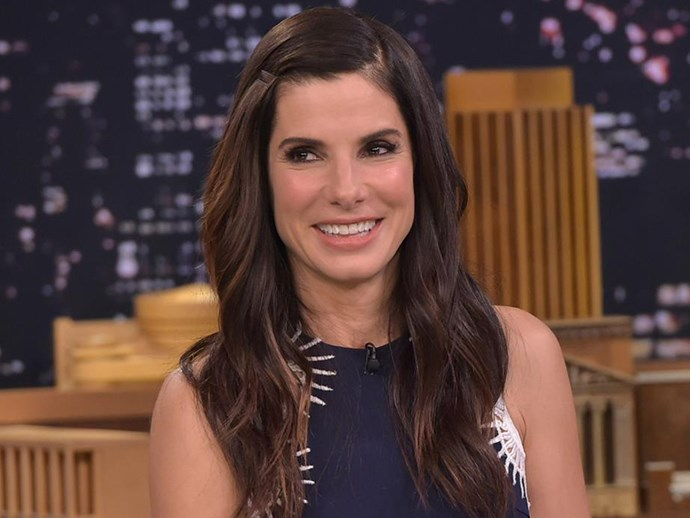 """""""I was putting [my son Louis] to bed and told him that even when I'm old and grey and more wrinkly than I am now, I'll still love him and want to tuck him in. And he asked me why I have wrinkles, and I said, 'Well, I hope some of them are from laughing so much,'"""" Sandra Bullock told [*People* magazine](http://people.com/celebrity/worlds-most-beautiful-2015-sandra-bullock-is-peoples-pick/