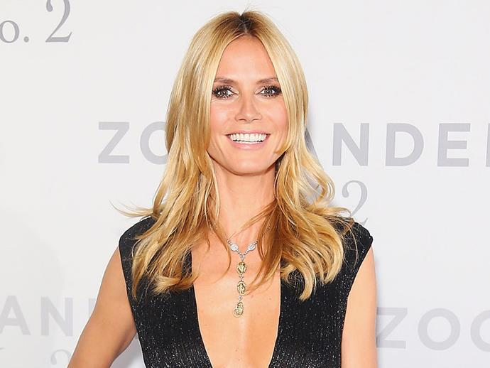 """I don't think of getting older as looking better or worse, it's just different. You change, and that's okay. Life is about change,"" Heidi Klum told [*Self*](http://www.self.com/gallery/heidi-klums-happy-healthy-life-slideshow