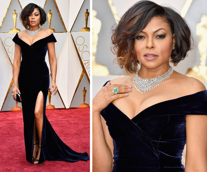 Taraji P. Henson knows how to work an LBD.