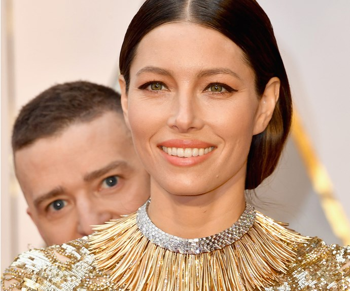 It might be the Oscars, but JT proves you can still be a total creeper.