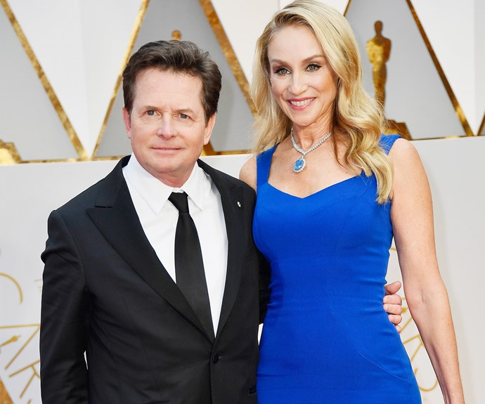Michael J. Fox, pictured with his wife Tracy Pollan, is set to present an award.