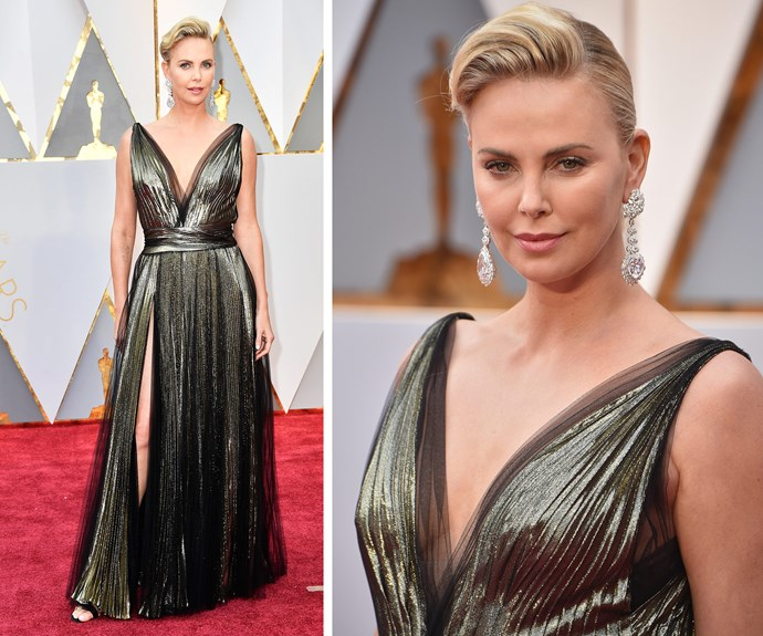 Simply divine Charlize Theron.