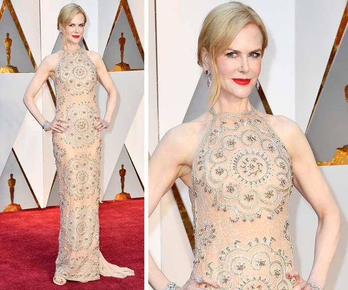 Nicole Kidman is a winner in Zuhair Murad.