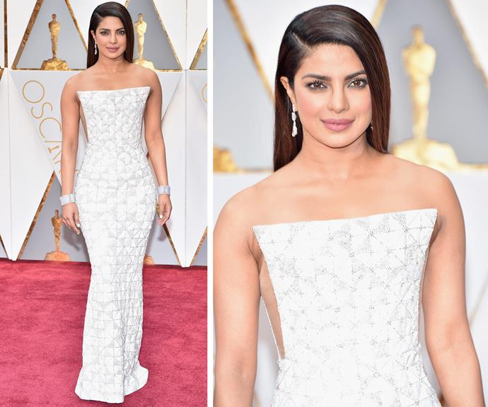 We are living for Priyanka Chopra's high-drama look.