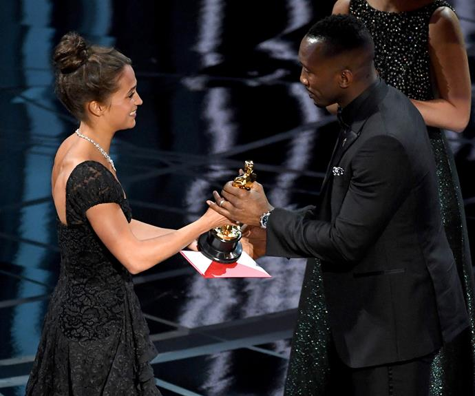 "*Moonlight* star Mahershala Ali is the first winner of the night, taking out the Best Supporting Actor award. **Check out the full list of [winners here](http://www.nowtolove.com.au/news/latest-news/oscars-winners-2017-35329|target=""_blank"")**"