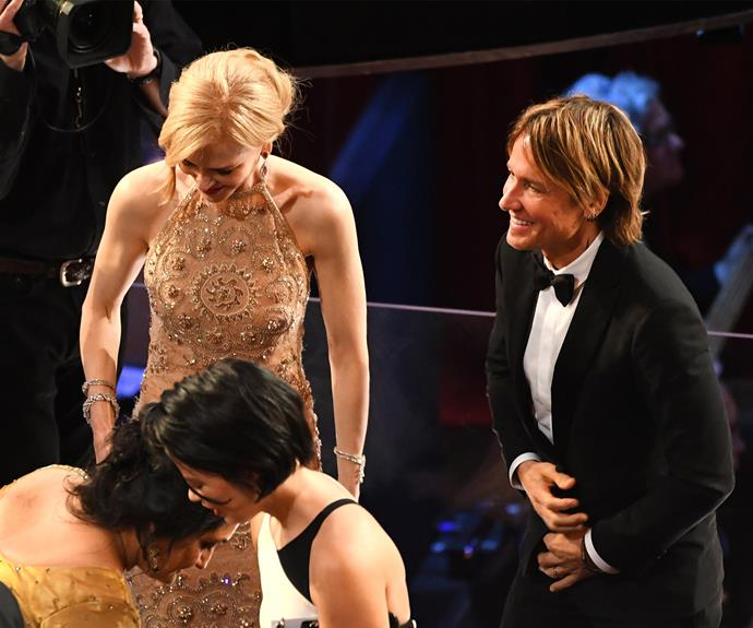 """Why can't Nicole Kidman clap?"" One user wrote. ""Why does Nicole Kidman clap her hands like that? Weird. Clap like a normal person,"" another person wrote."