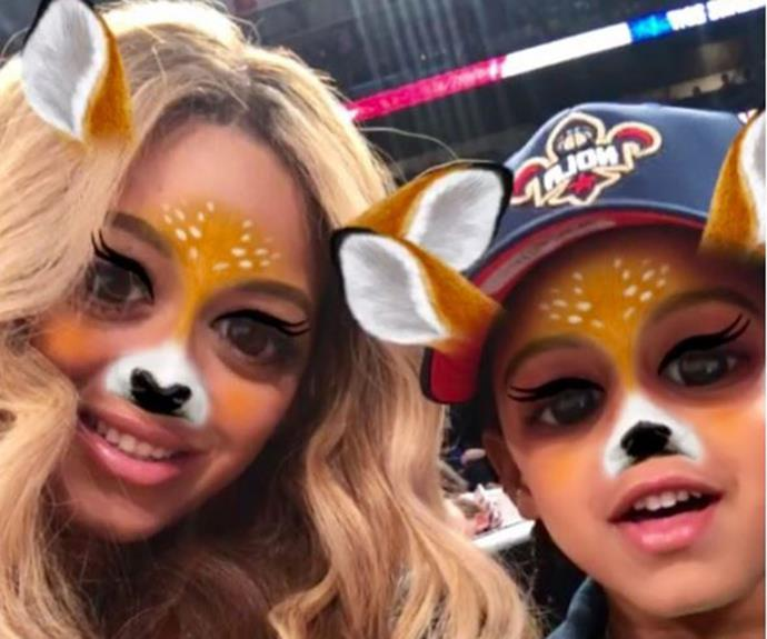 """That time this week (27/2) when fans were convinced Bey has a secret Snapchat account after she posted this filter-ific pic of herself and daughter Blue Ivy on her [Instagram](https://www.instagram.com/p/BQ3sxNHgOSA/?taken-by=beyonce target=""""_blank"""" rel=""""nofollow"""")."""