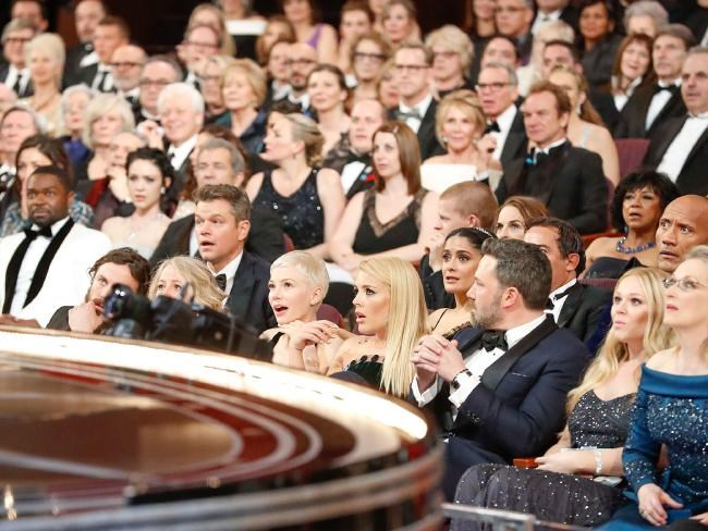 The stars were just as shocked as the rest of us! Photo: Getty