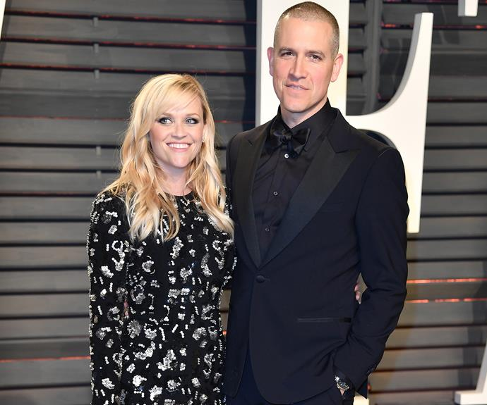 *Big Little Lies* star Reese Witherspoon was joined by her husband Jim Toth.