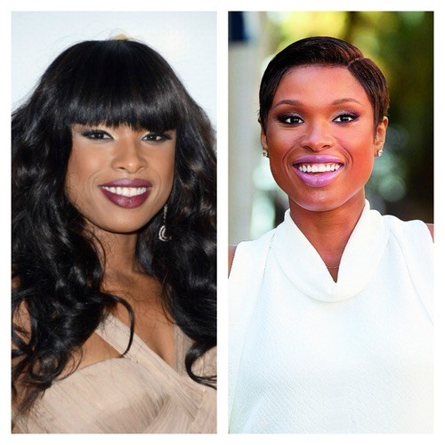 Jennifer Hudson looks so fresh with her shorter crop, and it even helps to elongate her neck.