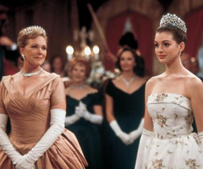 We can't wait to see Queen Clarisse Renaldi and Princess Mia Thermopolis on our screens again