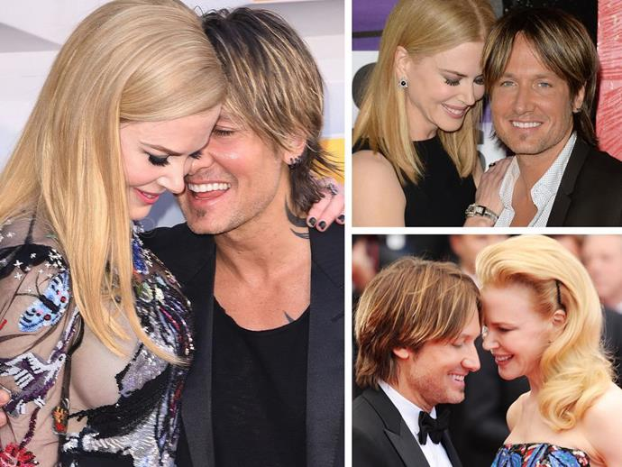 **Culprit:** Nicole Kidman and Keith Urban. **Guilty of:** The cute nuzzle. Any time these [two hit the red carpet](http://www.nowtolove.com.au/celebrity/celeb-news/nicole-kidman-and-keith-urbans-love-through-the-years-32682), we just cannot get over how adorable and in love they are...